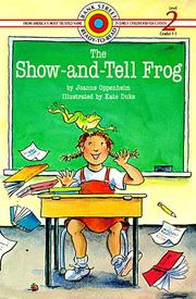 Cover of: The Show-and-Tell Frog (Bank Street Level 2*) by Joanne Oppenheim