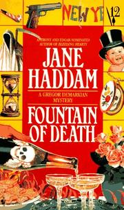 Cover of: Fountain of Death | Jane Haddam