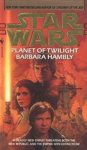 Cover of: Planet of Twilight (Star Wars.) | Barbara Hambly