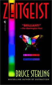 Cover of: Zeitgeist | Bruce Sterling