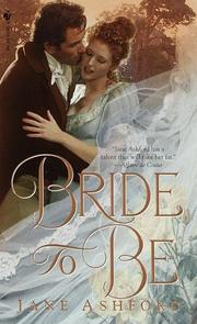 Cover of: Bride to Be by Jane Ashford