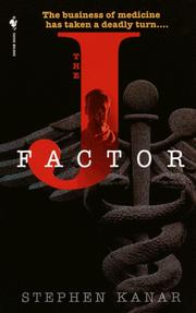 Cover of: The J factor by Stephen Kanar