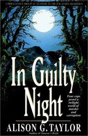 Cover of: In Guilty Night by Alison G. Taylor