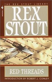 Cover of: Red Threads (Crime Line) | Rex Stout