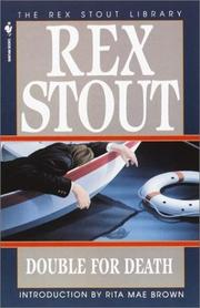 Cover of: Double for Death (Crime Line) | Rex Stout