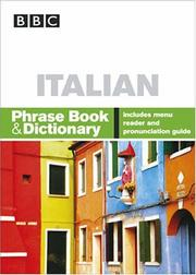 Cover of: BBC Italian Phrase Book & Dictionary (Phrase Book) | Carol Stanley