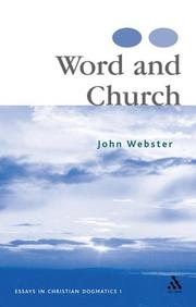 Cover of: Word And Church | John Webster