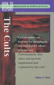 Cover of: The cults | Hubert F. Beck