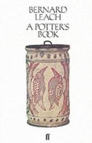 Cover of: A potter's book | Bernard Leach
