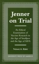 Cover of: Jenner on trial | Thomas A. Kerns