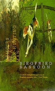 Cover of: Memoirs of a fox-hunting man | Siegfried Sassoon