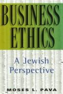 Cover of: Business ethics by Moses L. Pava