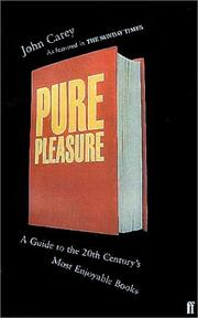 Cover of: Pure Pleasure by John Carey