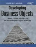 Cover of: Developing business objects | Andy Carmichael