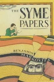 Cover of: The Syme papers by Benjamin Markovits