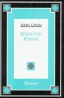 Cover of: Selected poems | Ennis, John