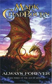 Cover of: Always Forever (The Age of Misrule, Book 3) | Mark Chadbourn