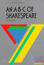 Cover of: An ABC of Shakespeare by P. Bayley