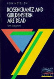 "Cover of: York Notes on Tom Stoppard's ""Rosencrantz and Guildenstern Are Dead"" 