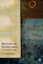 Cover of: Humanity and Environment | I. G. Simmons