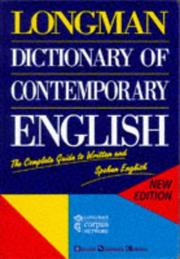 Cover of: Dictionary of Contemporary English | A. C. Kermode