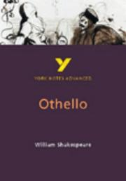 "Cover of: York Notes on Shakespeare's ""Othello"" by Rebecca Warren"