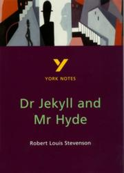 "Cover of: York Notes on Robert Louis Stevenson's ""Doctor Jekyll and Mr.Hyde"" by Tony Burke"