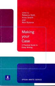Cover of: Making Your Case | Rebecca Stott