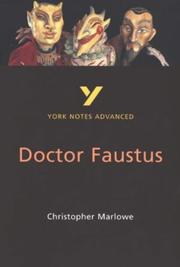 "Cover of: York Notes on Thomas Mann's ""Dr.Faustus"" 