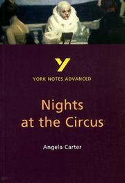 Cover of: York Notes Advanced by a Carter