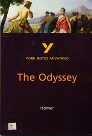 "Cover of: York Notes on Homer's ""Odyssey"" 