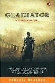 Cover of: Gladiator, Level 4 by Peter Gram