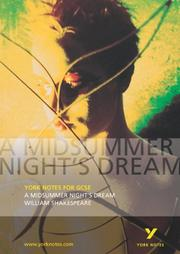 Cover of: A Midsummer Night's Dream by John Scicluna