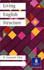 Cover of: Living English Structure by William Stannard Allen