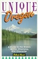 Cover of: Unique Oregon | Harris, Richard