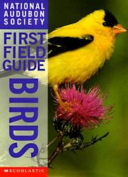 Cover of: Birds (National Audubon Society First Field Guides) by Scott Weindensaul