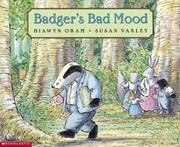 Cover of: Badger's Bad Mood by Hiawin Oram