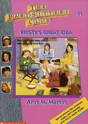 Cover of: Kristy's Great Idea (The Baby-Sitter's Club #1) | Ann M. Martin