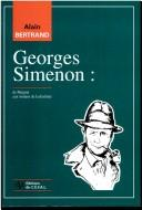 Cover of: Georges Simenon | Alain Bertrand