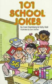 Cover of: 101 School Jokes by Lisa Eisenberg