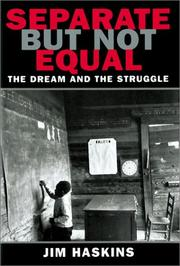 Cover of: Separate But Not Equal | Jim Haskins