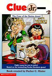 Cover of: The Case of the Stolen Jewel (Clue Jr.) by Michael Teitelbaum