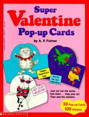 Cover of: Super Valentine Pop-Up Cards | A. P. Folmer