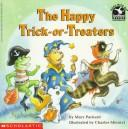 The happy trick-or-treaters