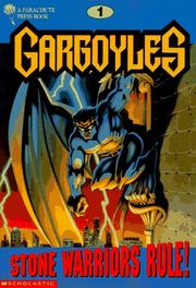 Cover of: Stone Warriors Rule! (Gargoyles, No 1) by Avery Hart