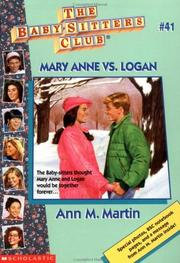 Mary Anne vs. Logan. (Baby-Sitters Club no.041)