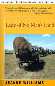 Cover of: Lady of No Man's Land | Jeanne Williams