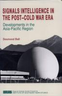 Cover of: Signals intelligence in the post-cold war era by Ball, Desmond.