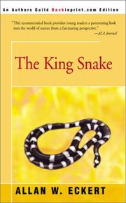 Cover of: King Snake | Allan W. Eckert