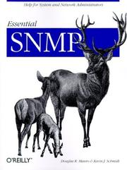 Cover of: Essential SNMP | Douglas R. Mauro